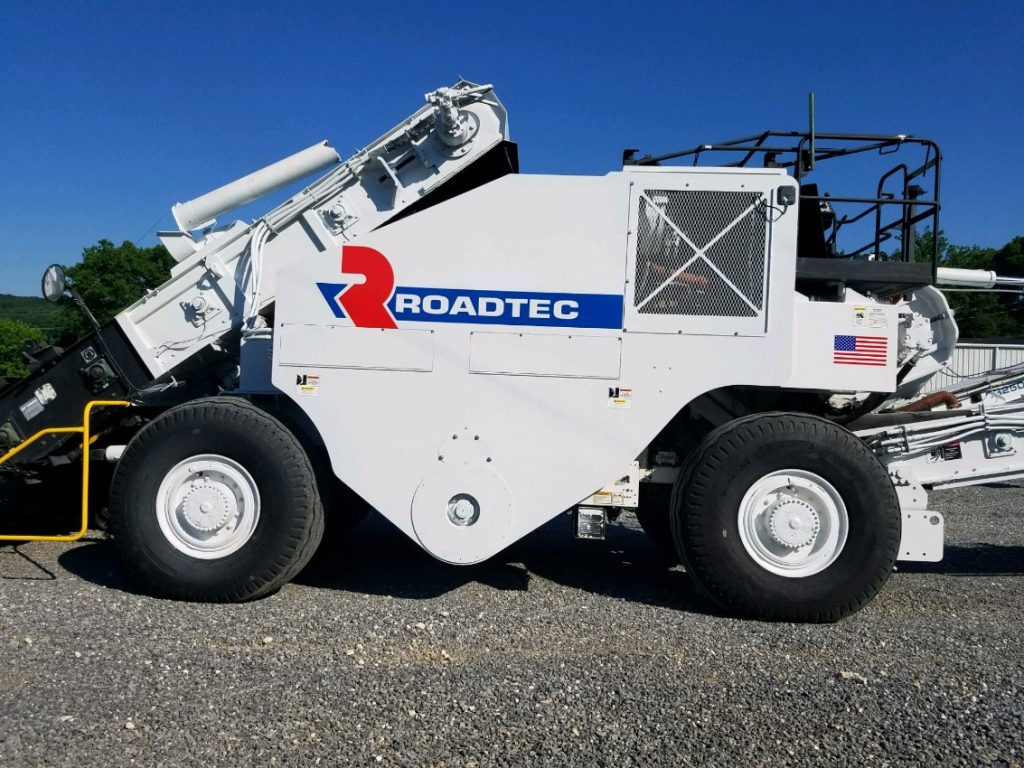 ROADTEC SB2500C sn 706 for sale by Chattanooga Hotmix
